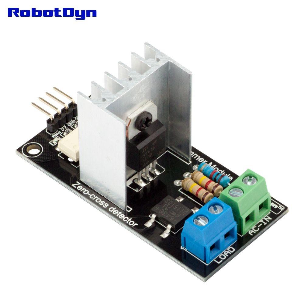 Ac Light Dimmer Module 1 Channel 33v 5v Logic 50 60hz 220v 110v Metal Detector