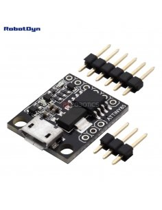 MicroUSB ATtiny85 dev.board (Digispark compatible)