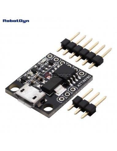 MicroUSB ATtiny85 dev.board (Digispark compatible)