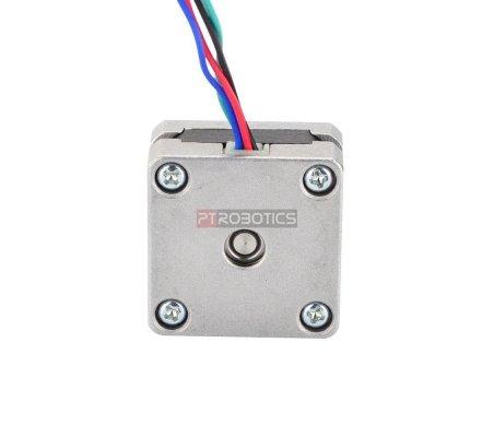 Nema 14 Bipolar 0.9deg 5Ncm (7.08oz.in) 0.5A 5V 35x35x20mm 4 Wires