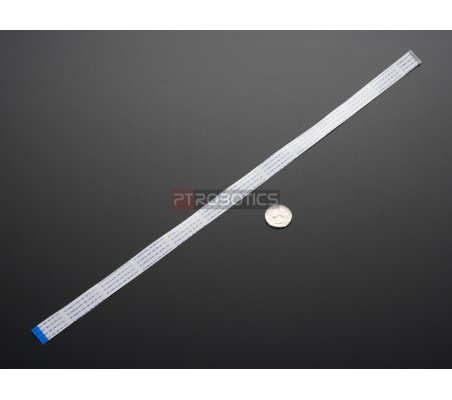 """Flex Cable for Raspberry Pi Camera or Display - 18"""" / 457mm Adafruit"""