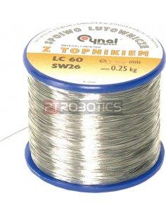 Solder wire 1mm 60/40 100gr