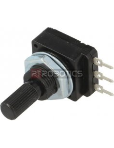 Rotary Potentiometer 500K Linear 60mW 6mm