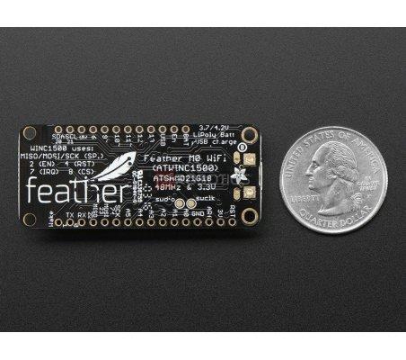 Adafruit Feather M0 WiFi - ATSAMD21 + ATWINC1500 | Feather |