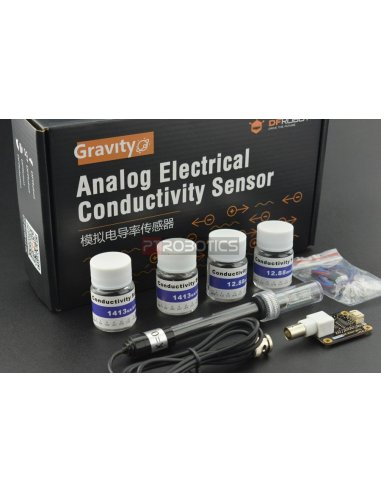 Gravity: Analog Electrical Conductivity Sensor /Meter V2