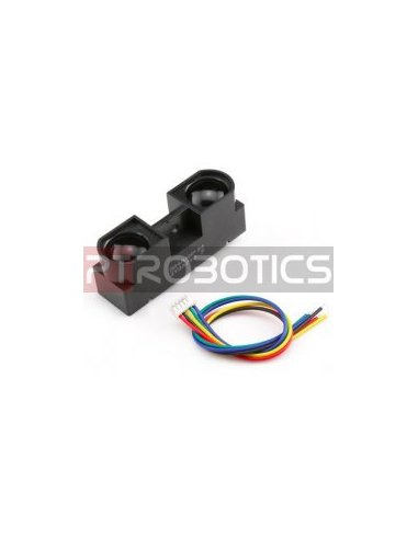 Sharp GP2Y0A41SK0F Analog Distance Sensor 4-30cm w/ cable | Sensores Ópticos |