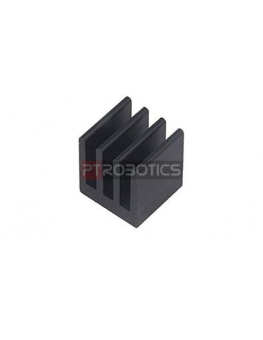 Heatsink for DIL-IC, PLCC and SMD 74K/W 13x13.5x15.24mm