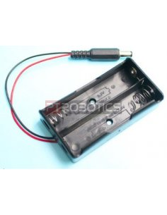 2x18650 Lithium Battery Charger w/ Barrel Jack Connector