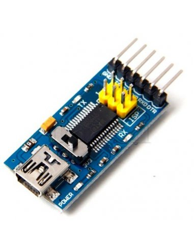 FT232RL 3.3V/5V FTDI USB to TTL Serial Adapter Module for Arduino | Conversores |