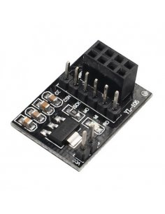 Socket Adapter for 8Pin NRF24L01+ Wireless Transceivers