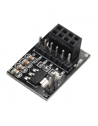 Socket Adapter for 8Pin NRF24L01+ Wireless Transceivers | Nordic NRF24 |