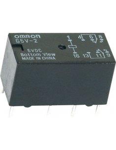 Omron G5V-2 12VDC Relay DPDT 2A 12Vdc