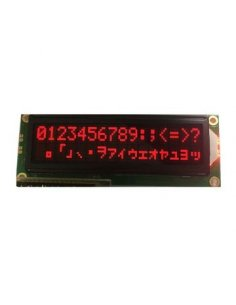 16x2 LCD Module - Red on Black 5V