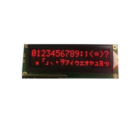 16x2 LCD Module - Vermelho on Black 5V | LCD Alfanumerico |