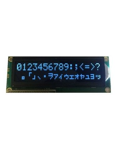 16x2 LCD Module - Azul on Black 5V | LCD Alfanumerico |