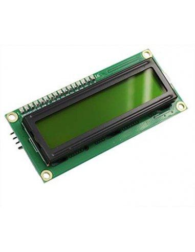 16x2 I2C LCD module - Verde | LCD Alfanumerico |