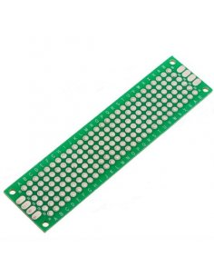 PCB Universal Prototyping Double-Sided Board 2x8cm