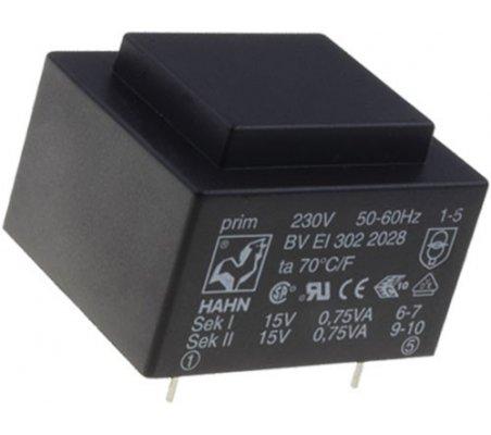HAHN BVEI4821237 Transformer encapsulated 12VA 230VAC