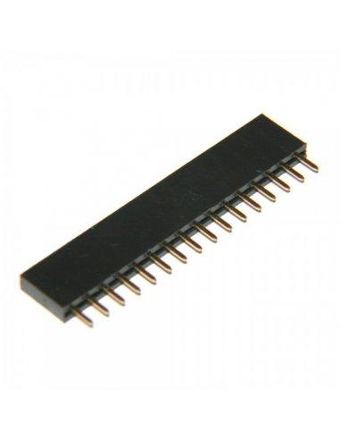 PCB Socket 16Pin Single Row   Headers e Sockets  
