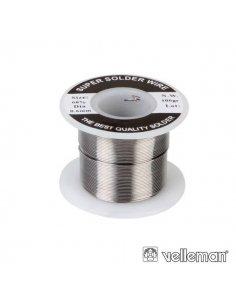 Solder wire 0.6mm 60/40 100gr Velleman