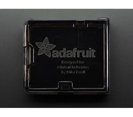 Adafruit Raspberry Pi A+ Case - Smoke Base w/ Clear Top   Caixas Raspberry pi   Adafruit