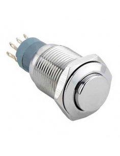 Velleman R1610 Round Metal Switch SPDT 1NO 1NC