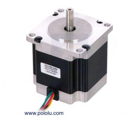 Stepper Motor: Unipolar/Bipolar, 200 Steps/Rev, 57×56mm, 3.6V, 2 A/Phase | Motor Stepper |