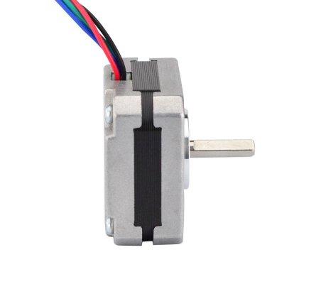 Nema 17 Bipolar 1.8deg 13Ncm (18.4oz.in) 1A 3.5V 42x42x20mm 4 Wires | Motor Stepper |