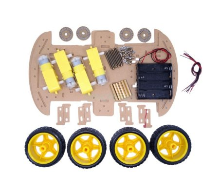 4WD Smart Robot Car Double Chassis Kit