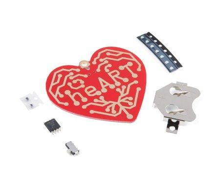 Kit DIY para Soldar - Coração   Ensino Básico   Sparkfun