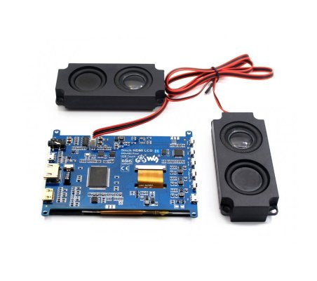 5inch HDMI 800x480 LCD Capacitive Touch Waveshare