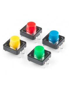Tactile Button 12mm - Green
