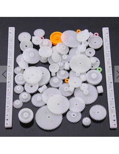 75 Type Plastic Crown, Single and Double Reduction and Worm Gear Kit