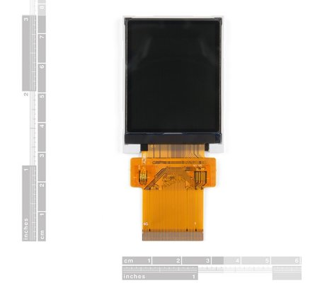 1.8 TFT LCD 160x128 RGB | LCD Grafico | Sparkfun