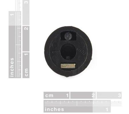 Black Knob - 15x19mm | Botões | Sparkfun
