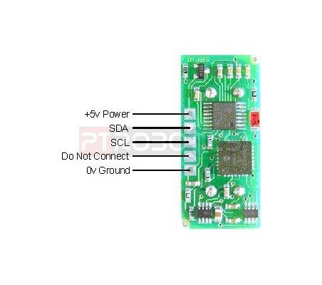 Ultrasonic Range Finder - Devantech SRF10