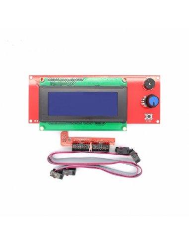 Ramps 1.4 20x4 LCD RepRap 3D Printer / Impressora 3D with Smart Controller Display Adapter | Impressão 3D |
