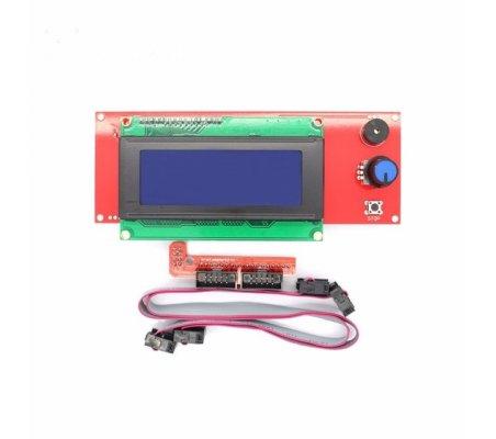 Ramps 1.4 20x4 LCD RepRap 3D Printer / Impressora 3D with Smart Controller Display Adapter