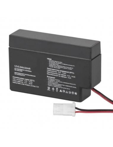 Lead Acid Battery 12V 800mAh | Baterias de Chumbo |