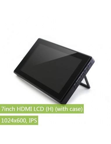 Waveshare 7inch HDMI LCD w/ case 1024x600 IPS
