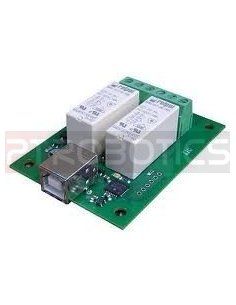 USB-RLY02 - 2 Channel Relay Module