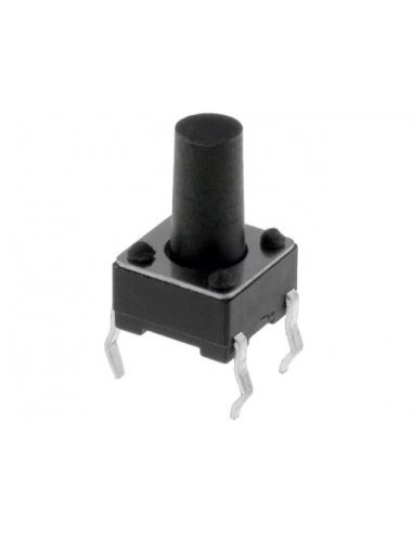 Push Button SPST 12V 50mA - 6x6x9.5mm | Push Button |