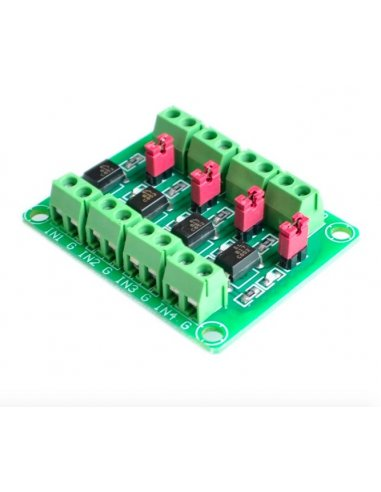 PC817 3.6-30V 4 Channel Optocoupler Isolation Module