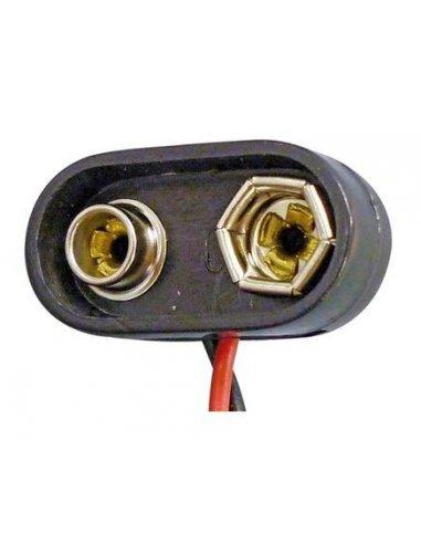 Heavy Duty PP3 Battery Clip T-shape