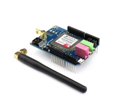 3G/GPRS/GSM Shield for Arduino with GPS - European version SIM5320E