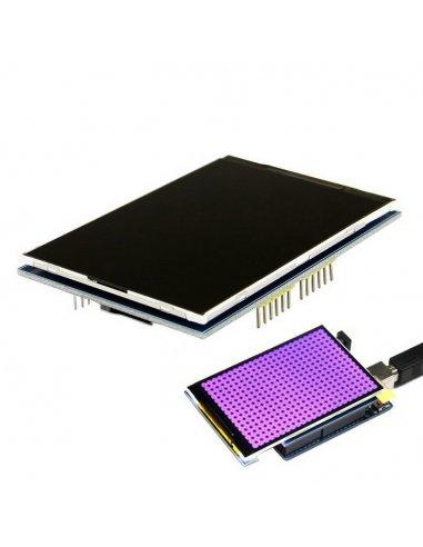 3.5 Inch TFT Shield 320x480 for Arduino Uno and Mega 2560 | LCD Grafico |