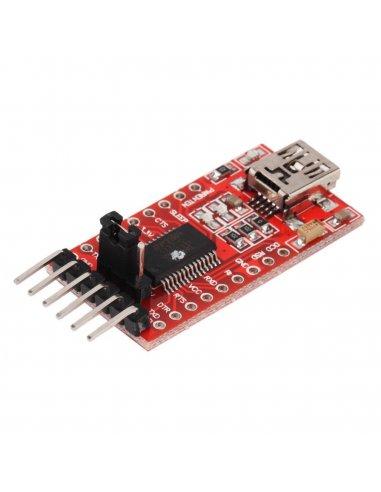 FTDI FT232RL USB to TTL Serial Converter Adapter Module 5V and 3.3V | Conversores |