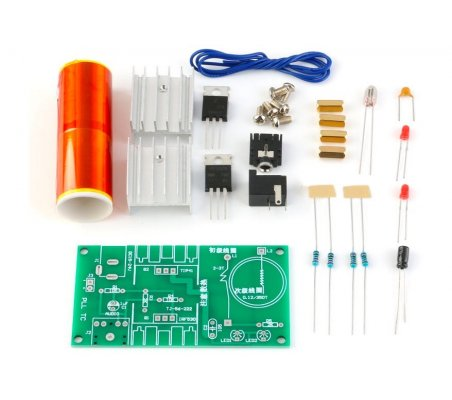Kit DIY Módulo Mini Bobine de Tesla -15W DC 15-24V 2A | Ensino Secundário |
