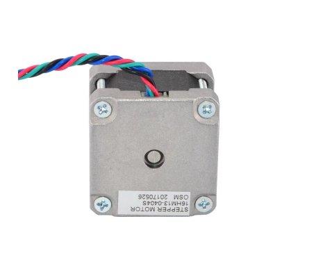 Nema 16 Bipolar 0.9deg 18Ncm (25.5oz.in) 0.4A 12V 39x39x34mm 4 Wires