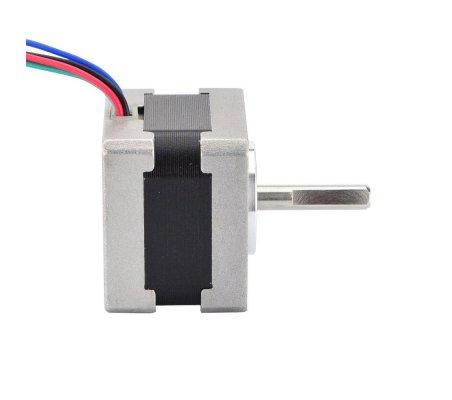 Nema 14 Bipolar 0.9deg 11Ncm (15.58oz.in) 0.4A 10V 35x35x28mm 4 Wires